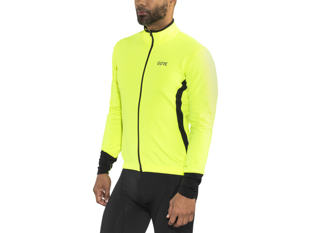 GORE WEAR C5 Thermo Jersey Men neon yellow/black